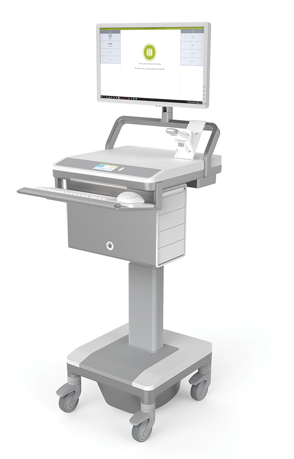 T7 MedLink Mobile Cart