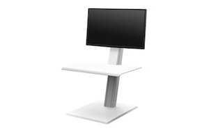 QuickStand Eco, Un Monitor, Blanco